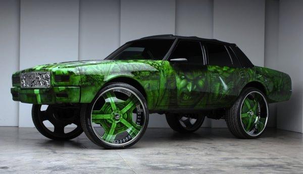 Hulksmash on Cadillac Engine Swap Chevrolet