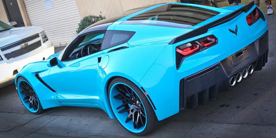 2015 Mustang Rims >> Widebody Corvette Stingray on Forgiato Wheels - Big Rims
