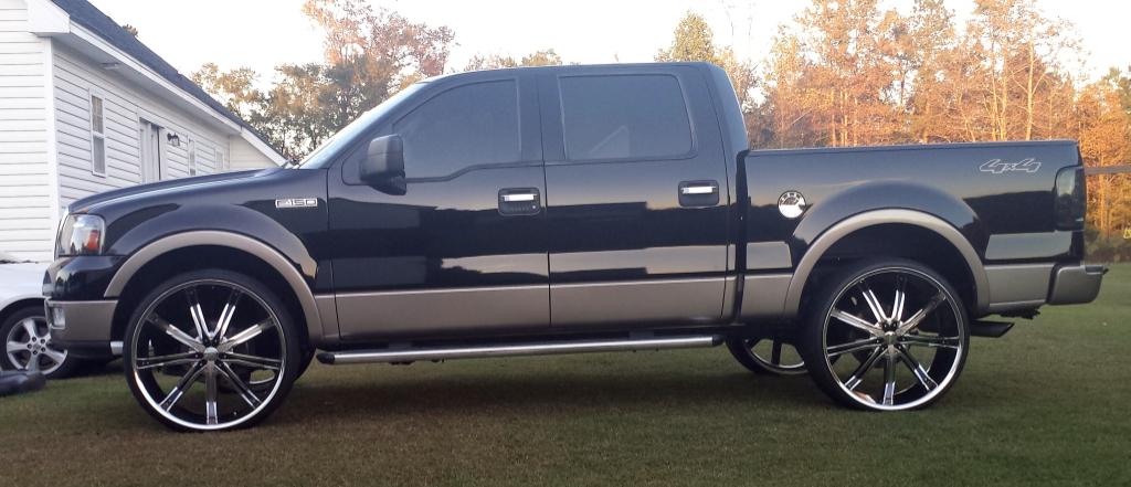 Detron McWilliams Ford F 150 on 28 inch dcenti - Big Rims - Custom Wheels