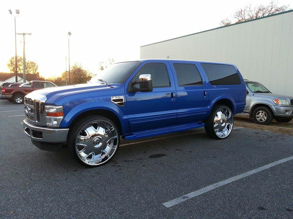 Sick  Ford Excursion On 30 U0026quot Dub Bandidos