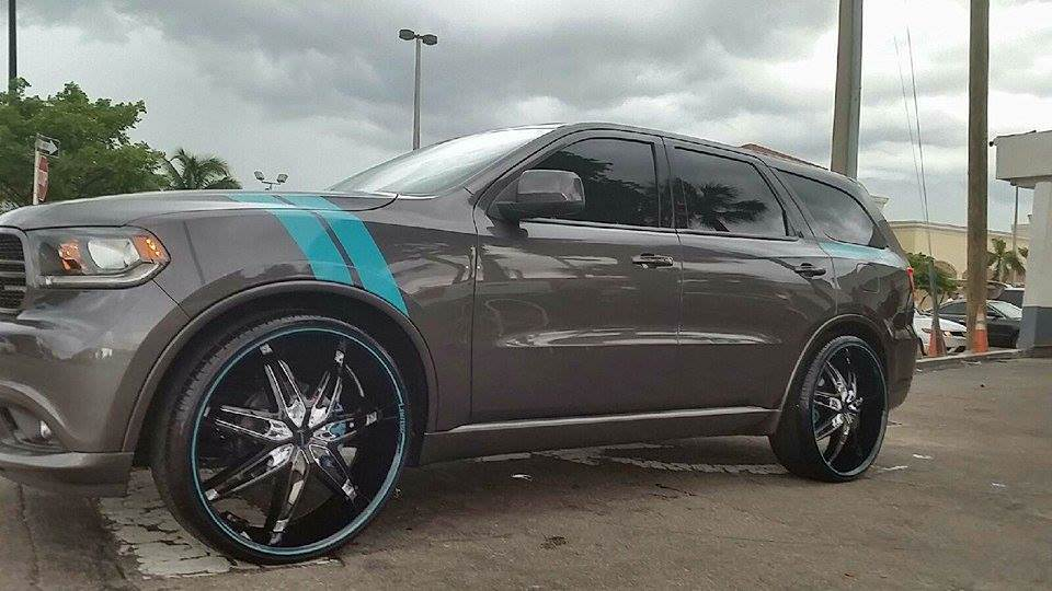 2014 Dodge Durango Rally Edition On 26 S Big Rims