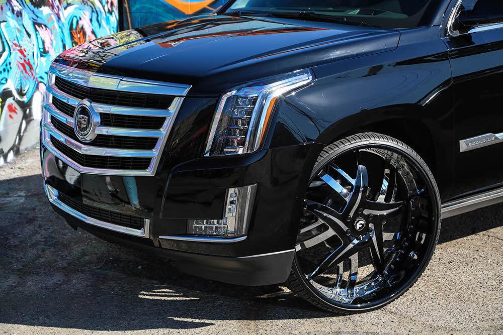 2015 Cadillac Escalade With 30 Inch Forgiato Wheels