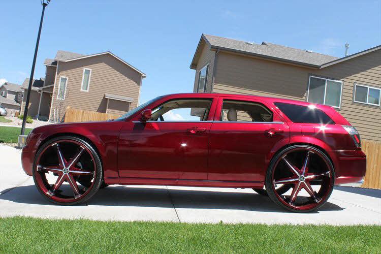 2008 Dodge Magnum On 32 S Big Rims Custom Wheels