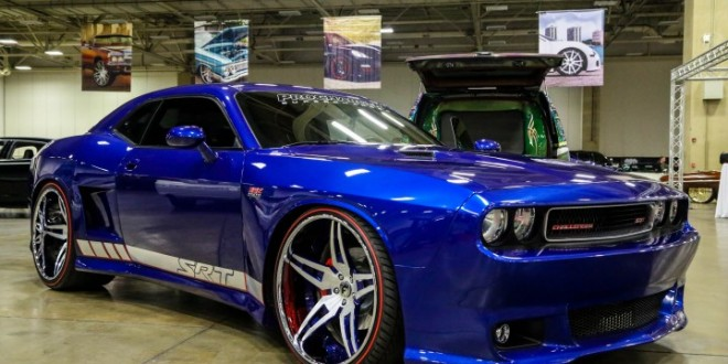 Widebody Dodge Challenger Srt On Forgiato Wheels Big