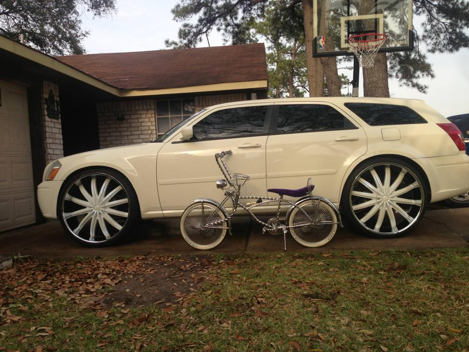Rims Inch Custom 28 : Dodge magnum sitting on s big rims custom wheels