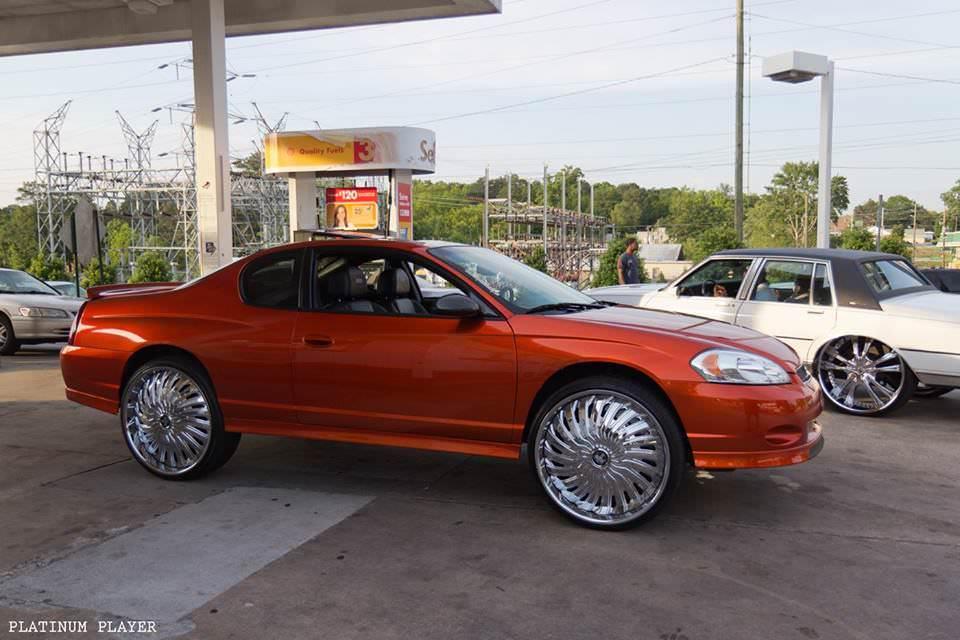 Chevy Monte Carlo On Dub 26 S Big Rims Custom Wheels