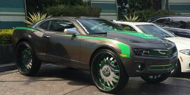 Chevrolet Camaro On 30 Inch Forgiato S Big Rims Custom