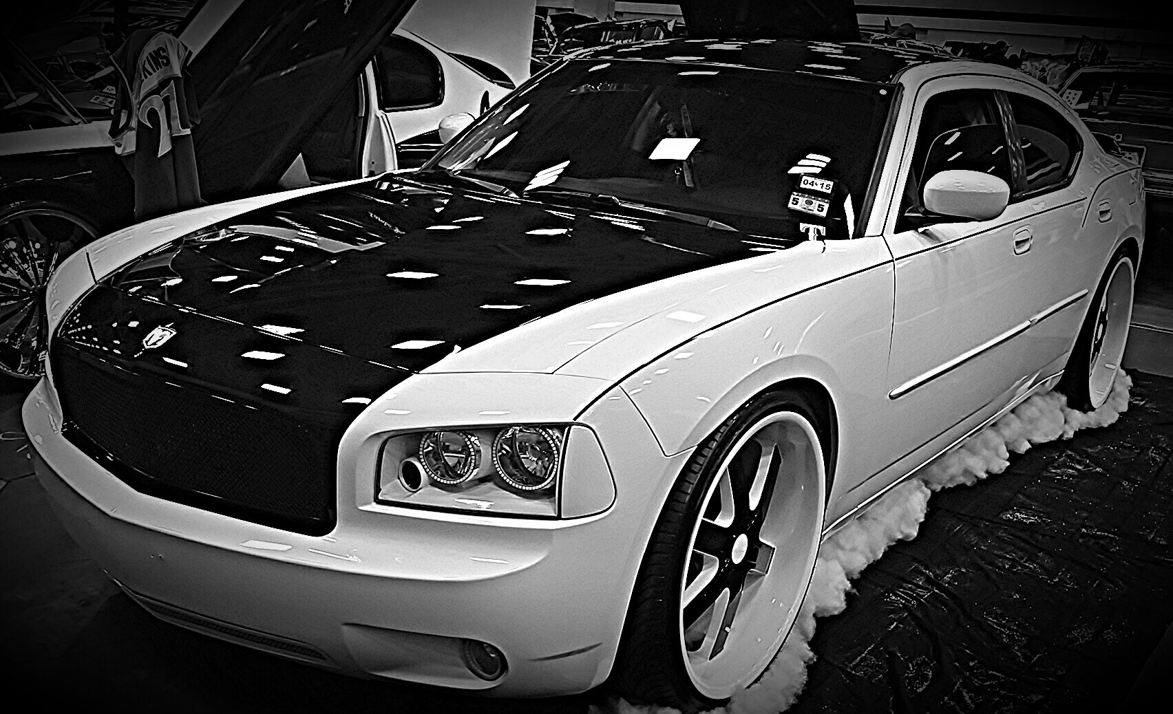 Dodge Challenger 24 Inch Rims >> luis Dodge Charger on 24's - Big Rims - Custom Wheels