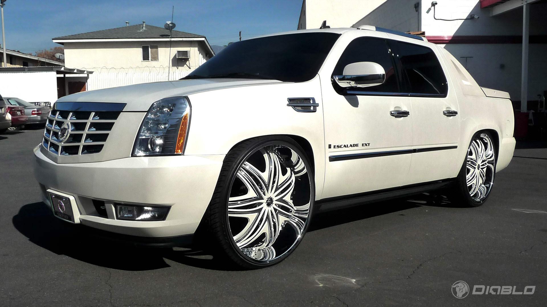 2010 Cadillac Escalade EXT On Diablo Wheels! NICE! A REAL ...