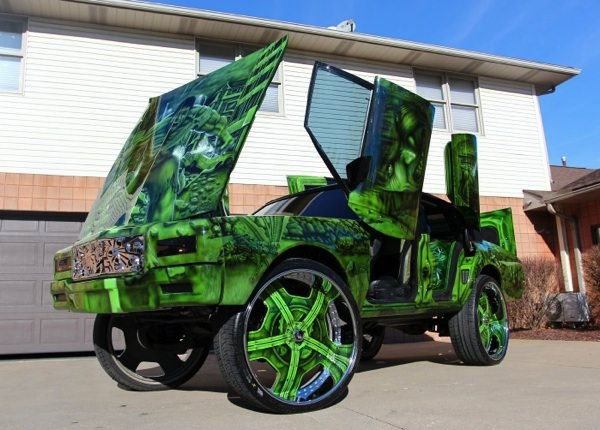Chevy Tahoe Lt >> Hulk 1989 Box Chevy Caprice Donk on 30 inch Forgiato