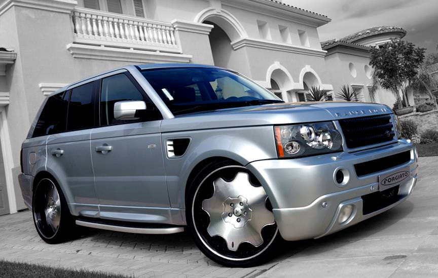 Simple Beautiful And Clean Range Rover On 26 S Big Rims