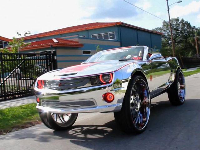 King Camaro Donk Ridin Clean On 32 Inch Forgiatos Big