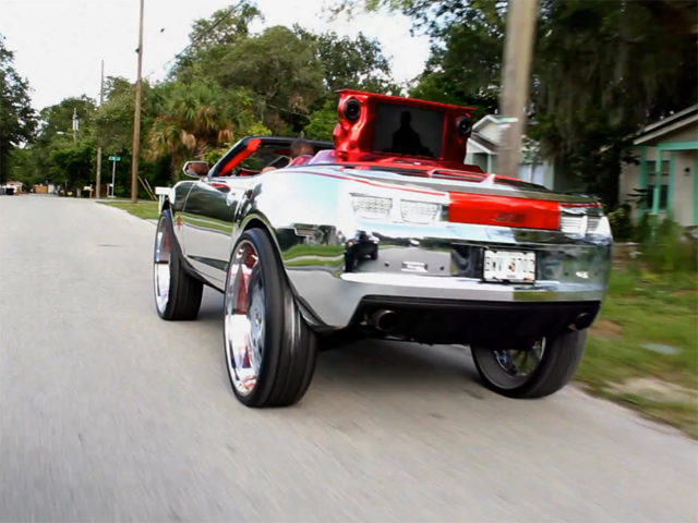 King Camaro Donk Ridin Clean On 32 Inch Forgiatos Big