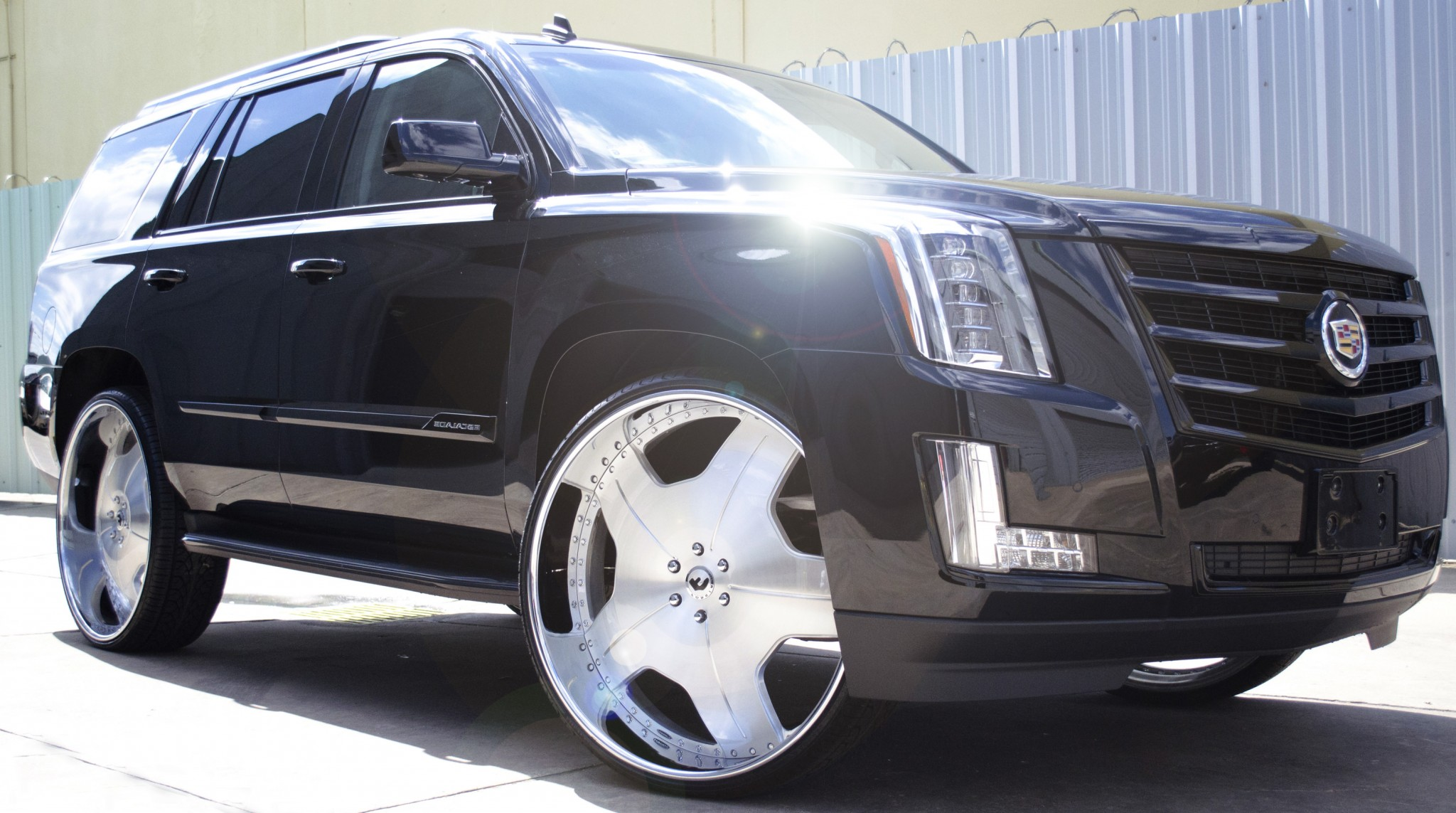 Cadillac On 26 Inch Rims : Cadillac escalade on quot inch wheels big rims custom