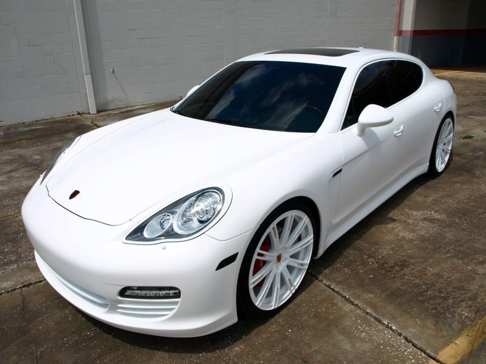 Gorgeous White On White Porsche Panamera On 22 S Big