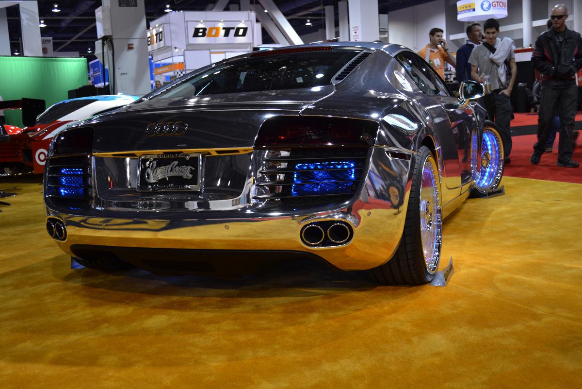 Tron Inspired Chrome Audi R By West Coast Customs Big