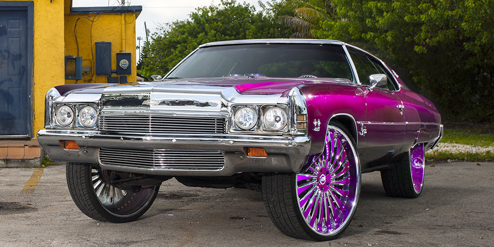 Chevy Impala on 30 inch Forgiato's - Big Rims - Custom Wheels