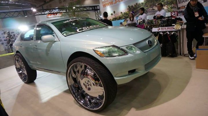 Forgiato Fest Japan Lexus On 32 S Big Rims Custom Wheels