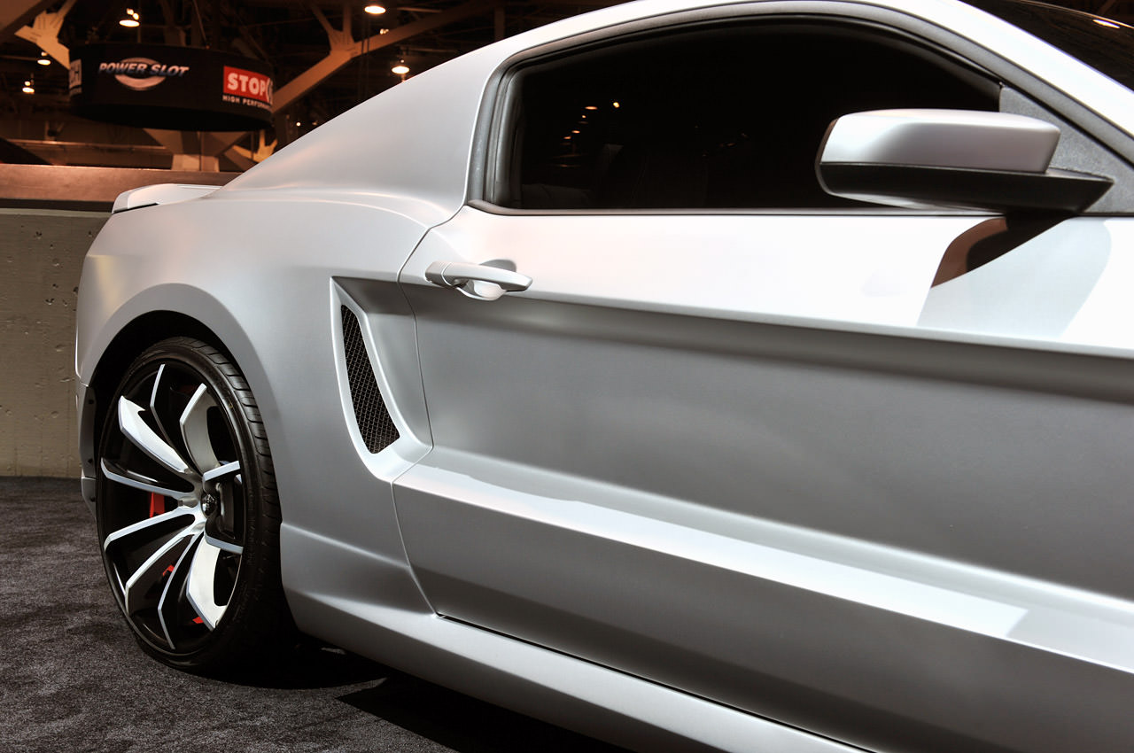 2012 Ford Mustang By Forgiato Wheels Big Rims Custom
