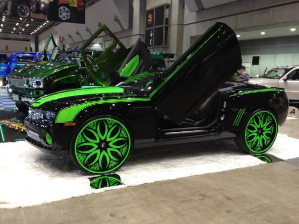 2013 Camaro On 30 Forgiatos Big Rims Custom Wheels