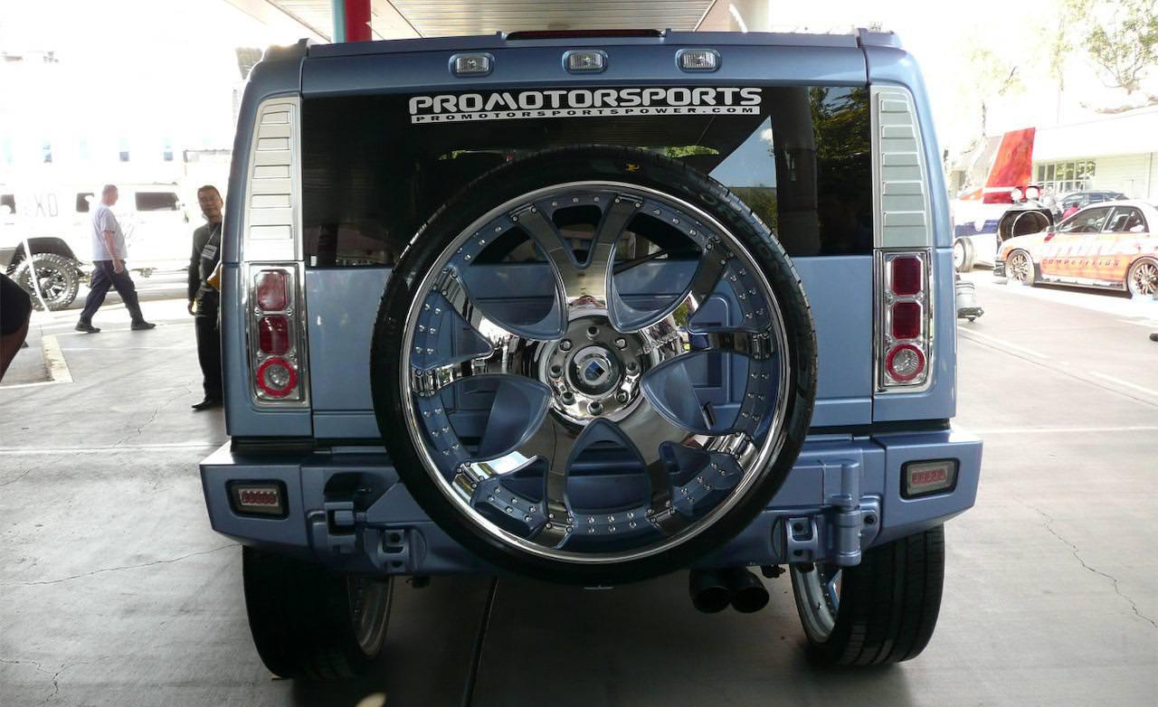 30 Inch Rims On Hummer H2 : Hummer h on inch asanti wheels big rims custom