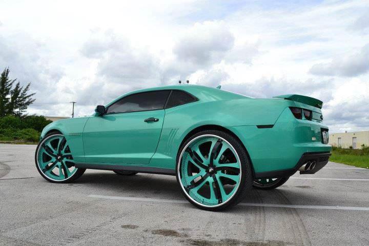 Camaro On 30 In Forgiato S Big Rims Custom Wheels