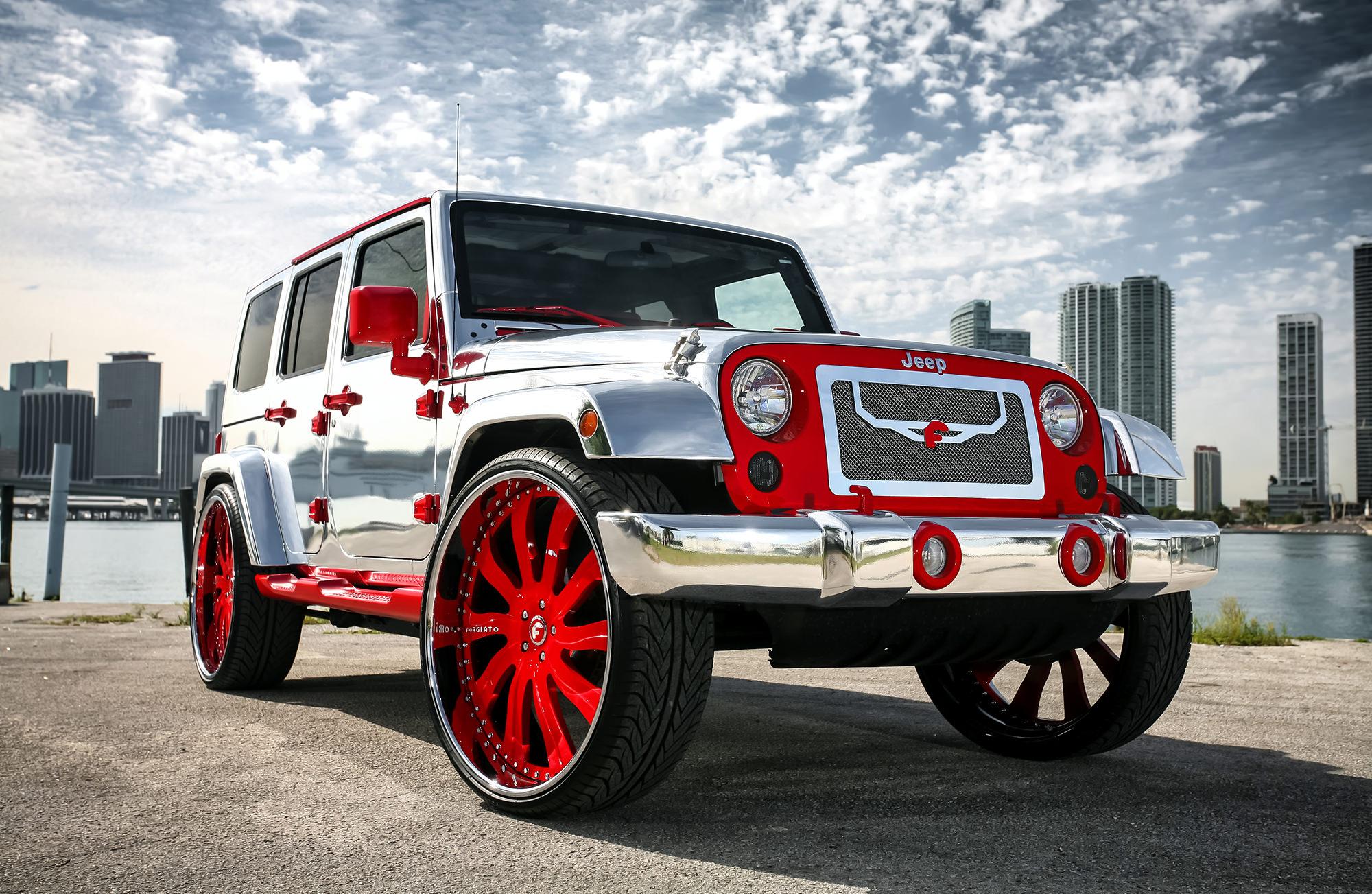Rims Inch Custom 28 : Jeep on inch forgiato big rims custom wheels