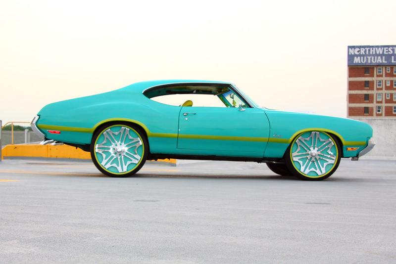 Cutlass On 30 Inch Rims : Oldsmobile cutlass on in davin wheels big rims