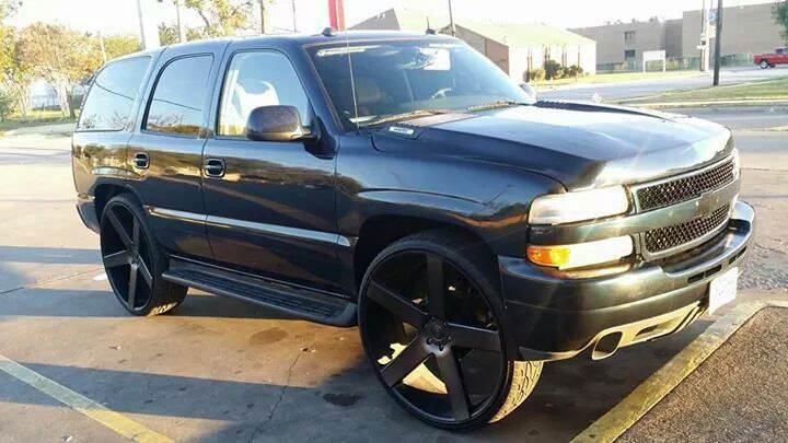 30 Inch Rims On Chevy : Chevy tahoe on inch dub ballers big rims custom wheels