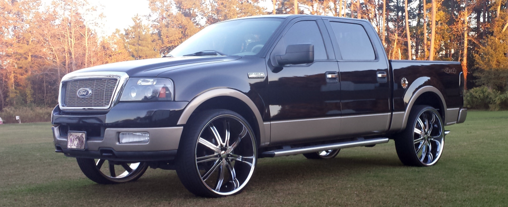 Detron Mcwilliams Ford F 150 On 28 Inch Dcenti Big Rims