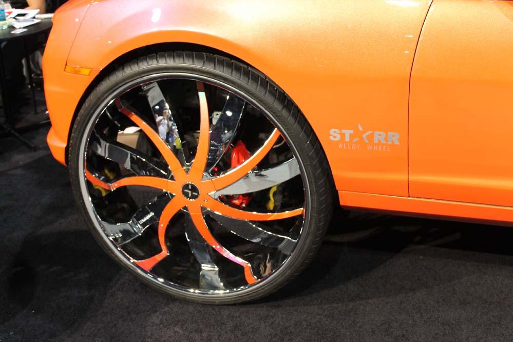 Car show Custom: First Camaro 34-Inch Wheels - Big Rims ...