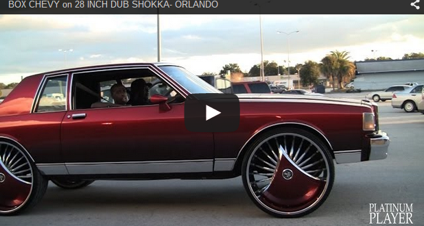 Orlando Chrysler Jeep Dodge >> BOX CHEVY on 28 INCH DUB SHOKKA- ORLANDO - Big Rims ...