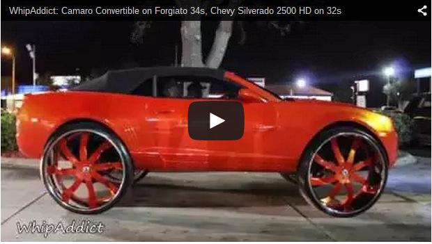 Chevy Silverado Guy >> Camaro Convertible on Forgiato 34s, Chevy Silverado 2500 ...