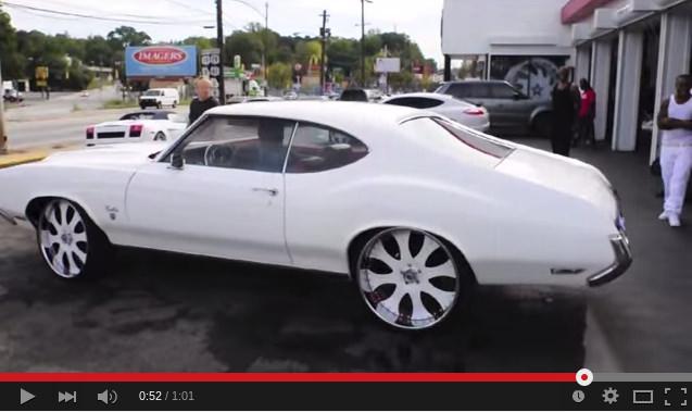 Yo Gotti S Cutlass Big Rims Custom Wheels