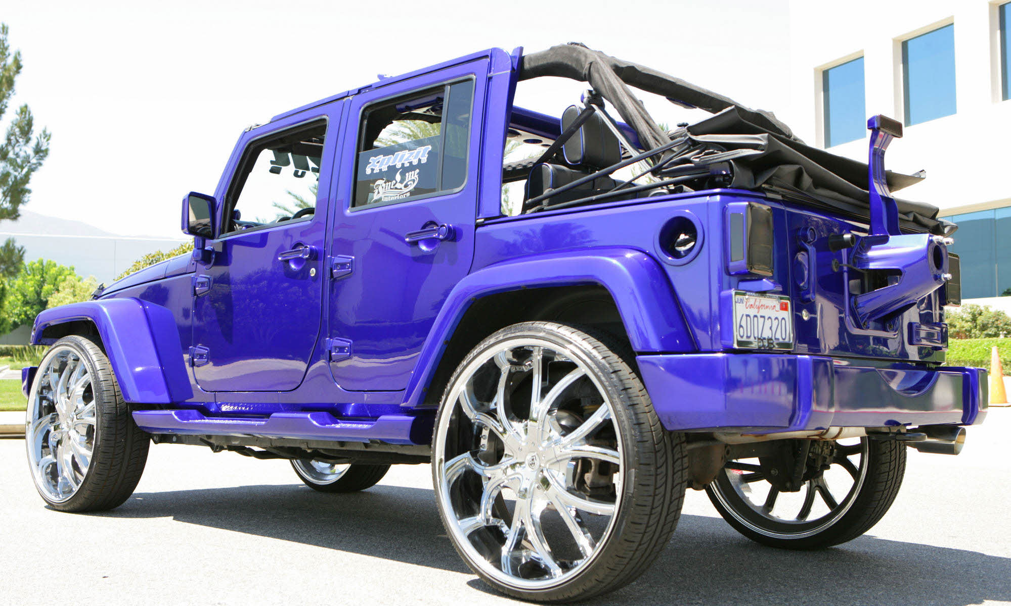 2010 Jeep Wrangler On 26 S Big Rims Custom Wheels