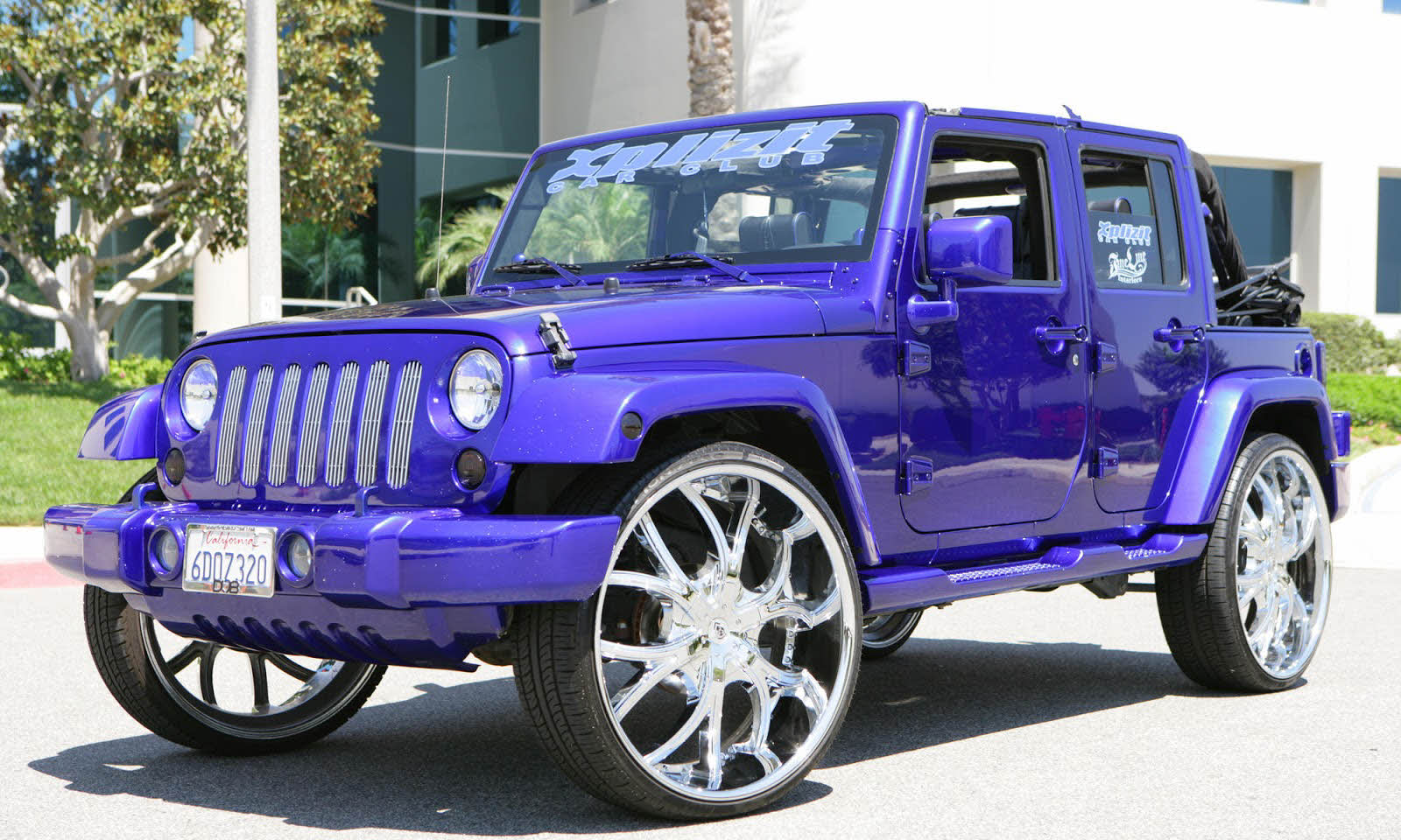 2010 Jeep Wrangler On 26s Big Rims Custom Wheels