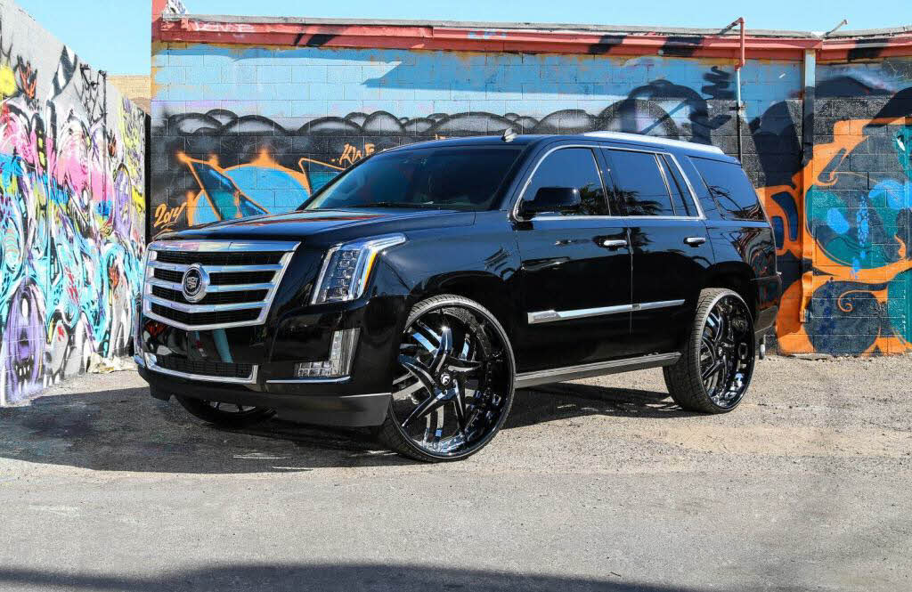2015 Cadillac Escalade With 30 Inch Forgiato Wheels
