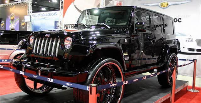 Jeep Wrangler On 30 S Big Rims Custom Wheels