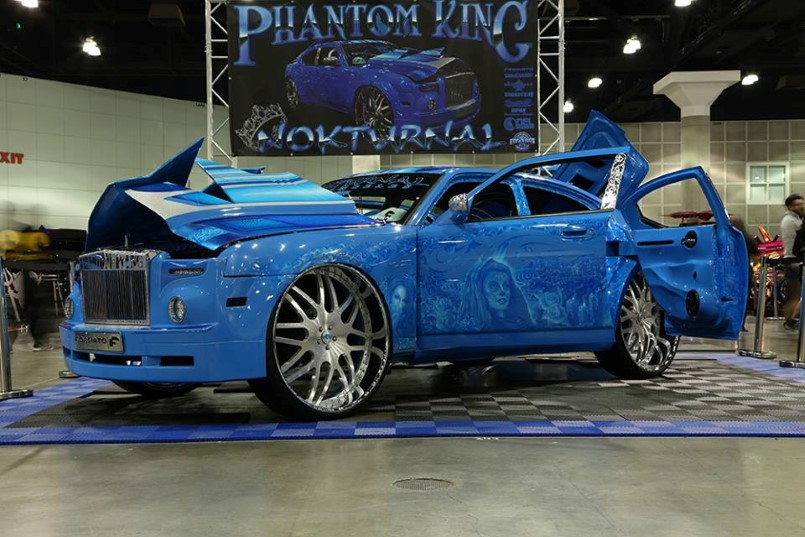 Phantom King Nokturnal 2006 Dodge Charger On 30 S Big