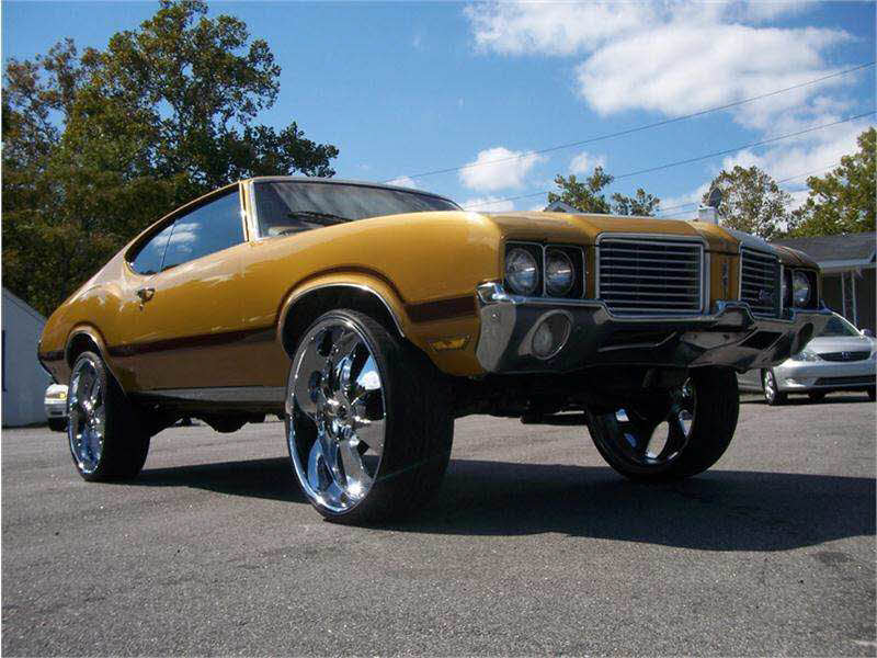Cutlass On 30 Inch Rims : Cutlass on s big rims custom wheels