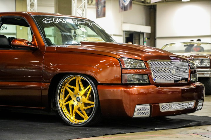 Bagged Chevy Silverado On Forgiato Wheels Swift Car Club