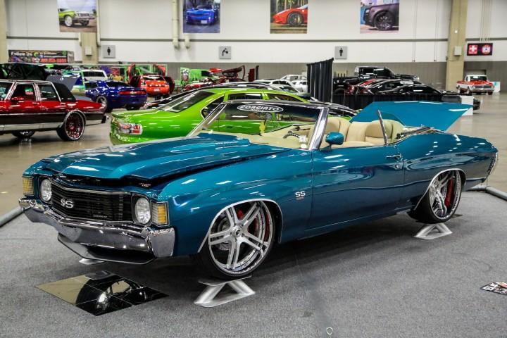 Custom Bagged Chevy Chevelle On Forgiato Wheels Big Rims