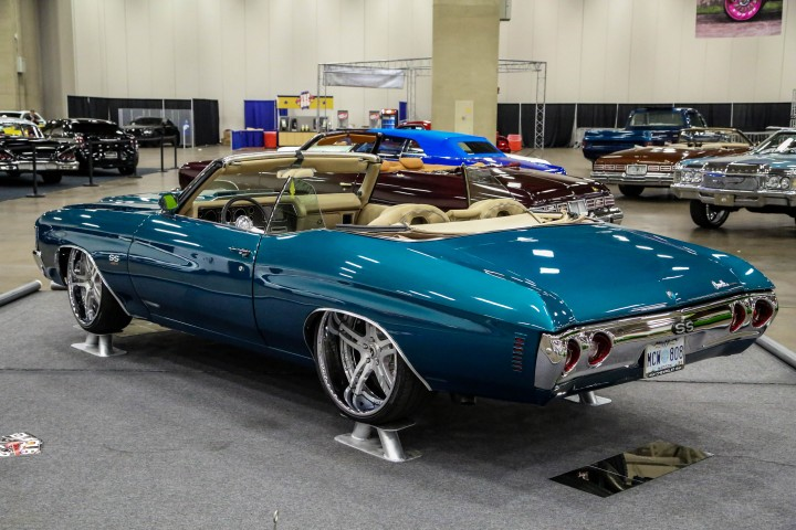 Custom Bagged Chevy Chevelle on Forgiato Wheels - Big Rims ...