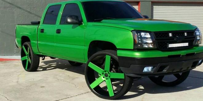 30 Inch Rims On Chevy : Chevrolet silverado on inch dub ballers big rims