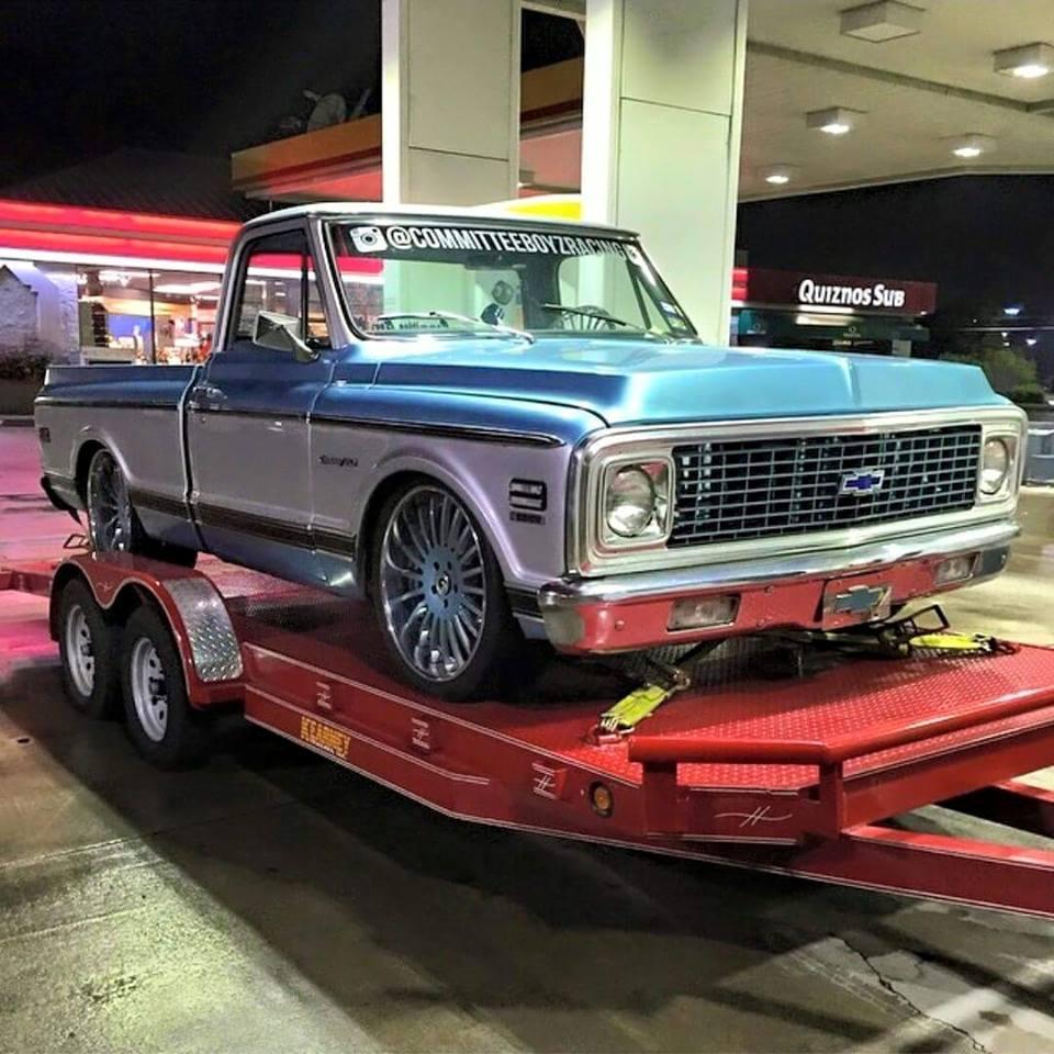 Chevy Tahoe Rims >> Old School Chevy Pickup on Forgiato Wheels (Forgiato Fest ...