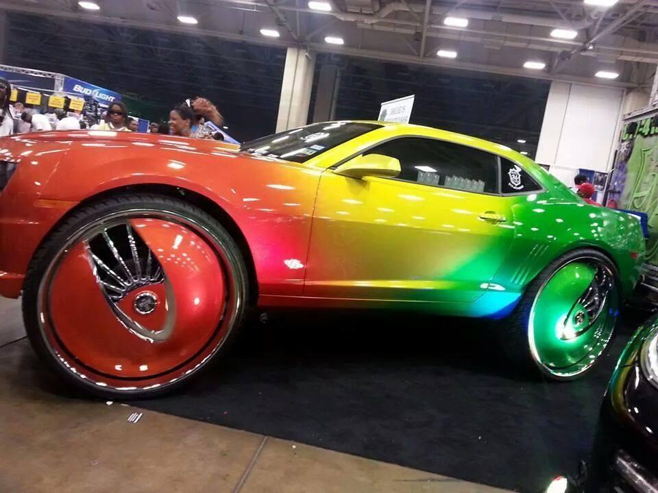 Custom Chevy Tahoe >> Custom Chevy Camaro On Dub Floaters - Big Rims - Custom Wheels