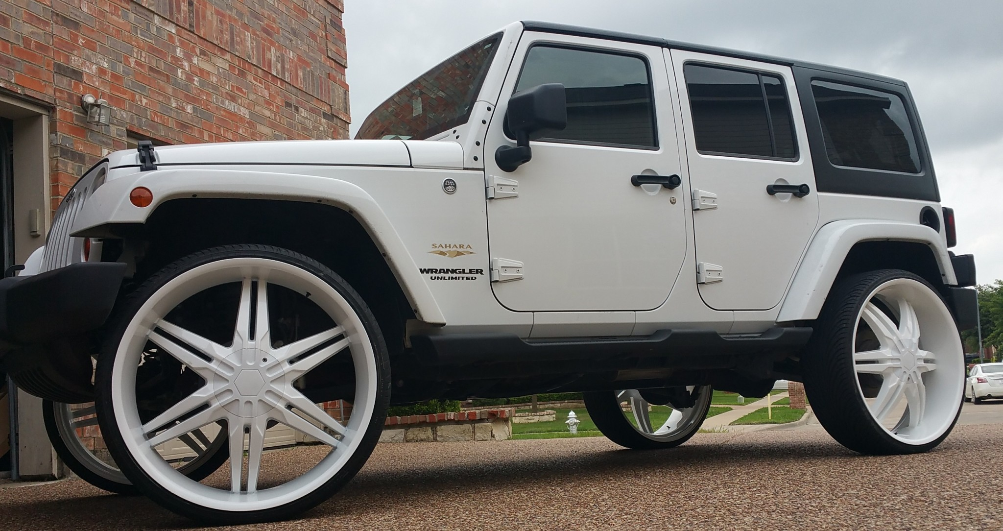 2012 Jeep Wrangler On 28 S Big Rims Custom Wheels