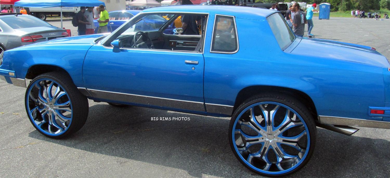 Custom Oldsmobile Cutlass On 28's - Big Rims - Custom Wheels