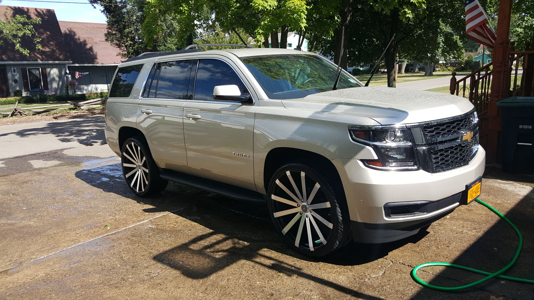 26 Inch Rims : Tahoe on inch velocity vw s big rims custom