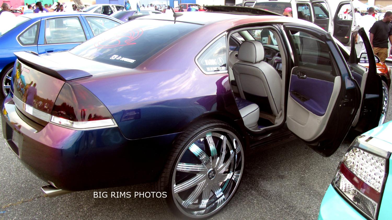 Chevy Impala On Dub Floaters Big Rims Custom Wheels